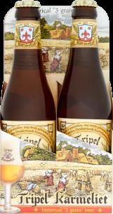 Tripel Karmeliet 4pack met flesjes van 33cl