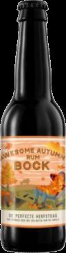 Hoop Awesome Autumn Rum Bock flesje van 33cl