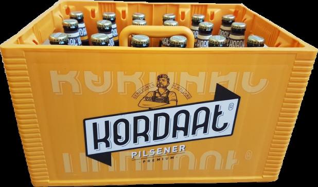 Kordaat bier krat met 24 flesjes van 30cl