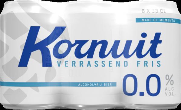 Grolsch Kornuit 0.0% sixpack met blikjes van 33cl