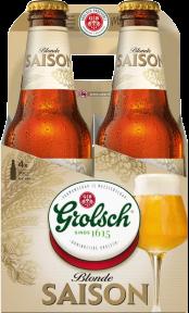 Grolsch Saison 4pack met flesjes van 30cl