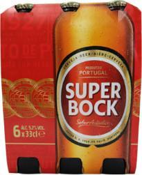 Super Bock set van 6 flesjes á 0,33 liter