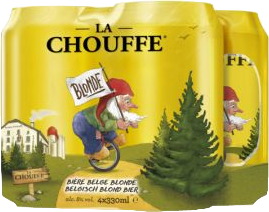 La Chouffe 4 blikken van 33cl