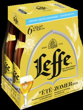 Leffe Zomer sixpack met flesjes van 33cl
