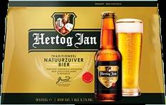 Hertog Jan doos met 10 flesjes van 25cl