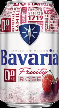 Bavaria 0.0% Fruity Rosé blikje van 0,33 liter
