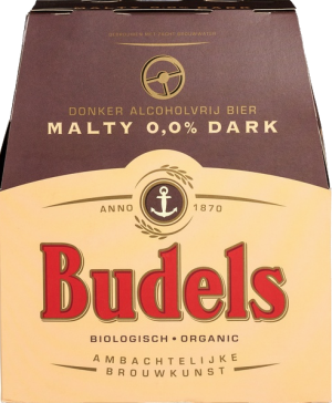 Budels Malty Dark 0,0% set van 6 flesjes á 0,30 liter