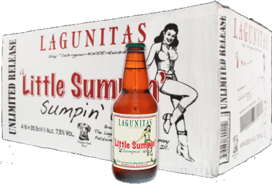 Lagunitas Little Sumpin' Sumpin' doos met 24 flesjes van 0,355 liter