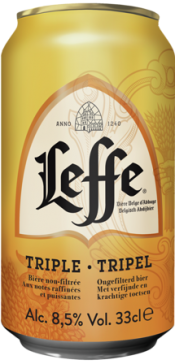 Leffe Tripel blikje van 0,33 liter