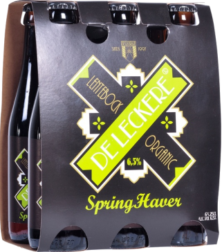 De Leckere SpringHaver Lentebock set van 6 flesjes á 0,25 liter