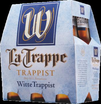 La Trappe Witte Trappist set van 6 flesjes á 0,30 liter