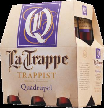 La Trappe quadrupel set van 6 flesjes á 0,30 liter