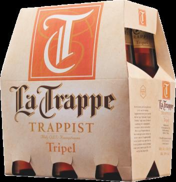 La Trappe tripel set van 6 flesjes á 0,30 liter