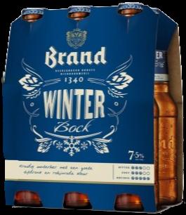 Brand Sylvester set van 6 flesjes á 0,30 liter