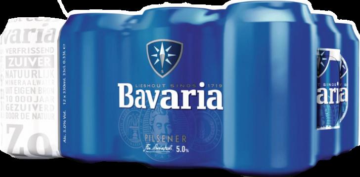 Bavaria set van 12 blikjes á 0,33 liter
