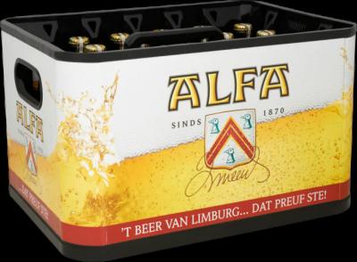 Alfa krat van 24 flesjes á 0,30 liter
