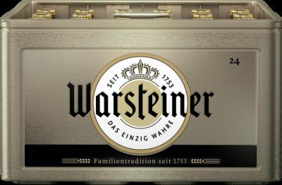Warsteiner krat van 24 flesjes á 0,30 liter