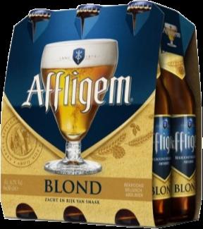 Affligem Blond set van 6 flesjes á 0,33 liter