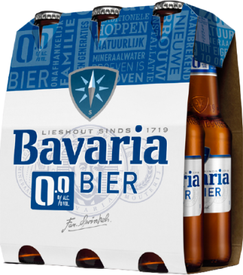 Bavaria 0.0% set van 6 flesjes á 0,30 liter