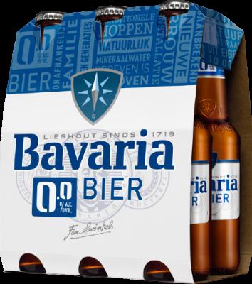Bvaria 0 alcohol flesjes 6x33