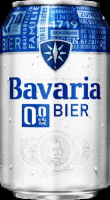 Bavaria 0.0% blikje van 0,33 liter