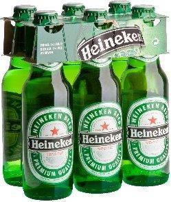 Heineken 6 flesje 0,33 L