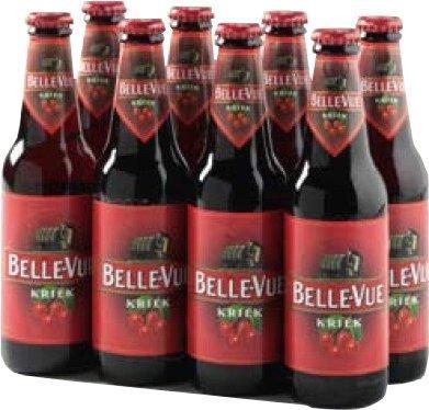 Belle-Vue Kriek set van 8 flesjes á 0,30 liter