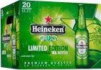 Heineken doos van 20 flesjes á 0,33 liter