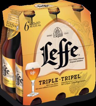Leffe Tripel set van 6 flesjes á 0,30 liter