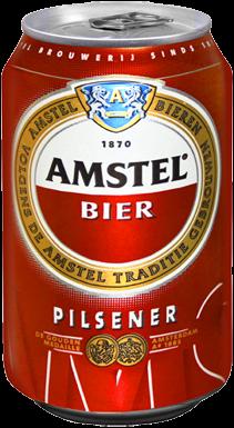 Amstel blikje van 0,33 liter